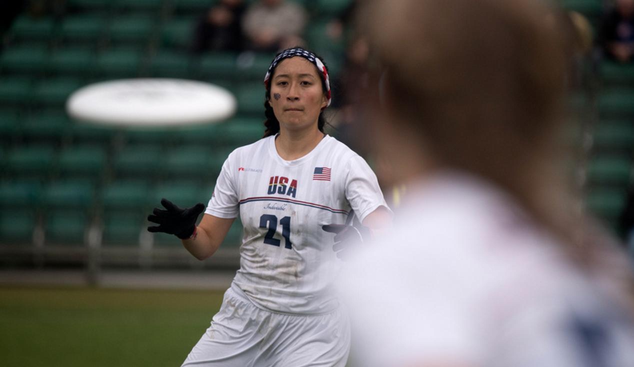 Team USA's Meeri Chang