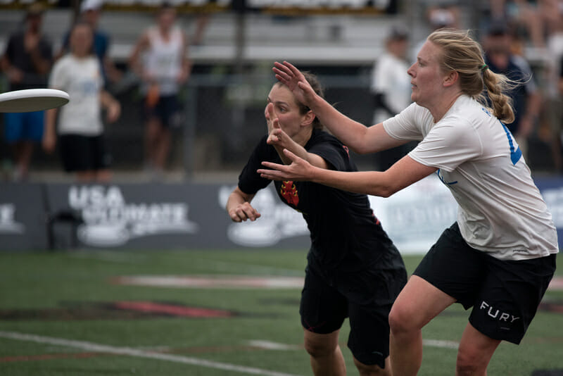 Fury's Maggie Ruden. Photo: Jolie Lang -- UltiPhotos.com
