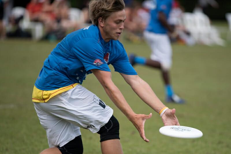 Team USA's Elliott Erickson. Photo: Jolie Lang -- UltiPhotos.com