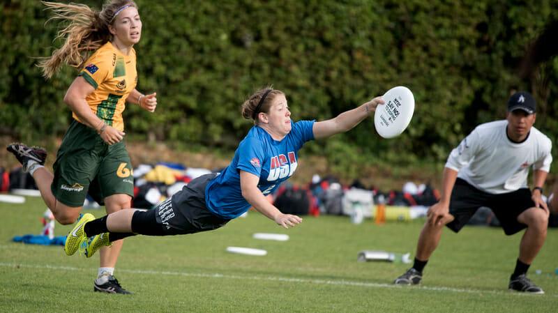 Team USA's Jesse Shofner. Photo: Jolie Lang -- UltiPhotos.com