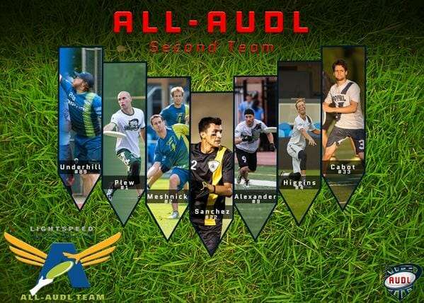 2015 all audl second team