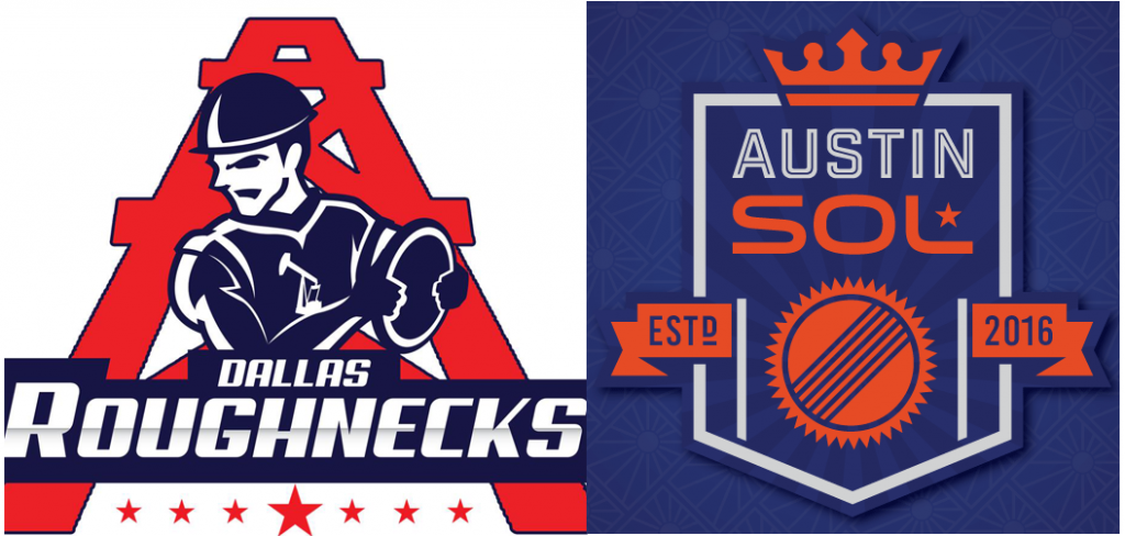 Dallas Roughnecks & Austin Sol