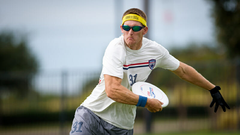 "Brandon ""Muffin"" Malecek. Photo: Paul Andris -- UltiPhotos.com"