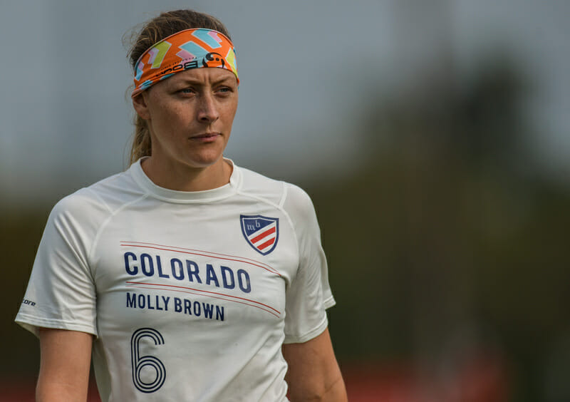 Ashley Brown of Molly Brown