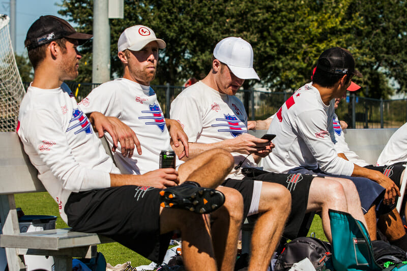 How is USAU doing in translating their content to mobile phones? Photo: Daniel Thai -- UltiPhotos.com