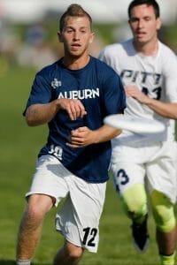 Auburn's Ryan Landry. Photo: William Brotman -- UltiPhotos.com