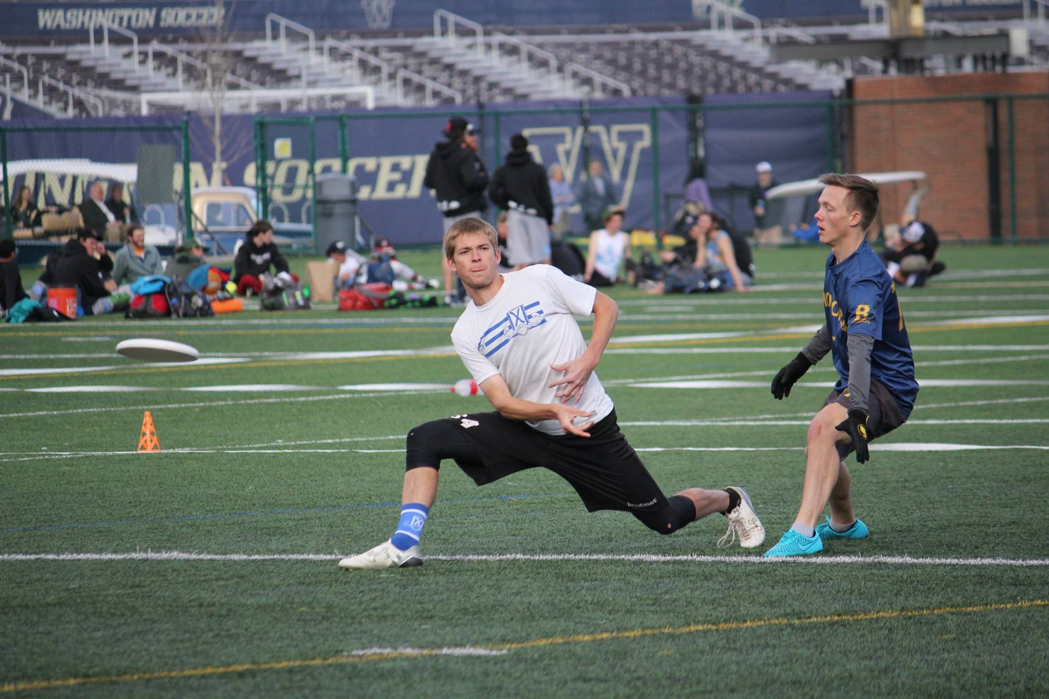 BYU's Jason McKeen at the Northwest Challenge. Photo: BYU Ultimate's Facebook page.