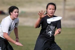 Dartmouth's Angela Zhu. Photo: Christina Schmidt -- UltiPhotos.com