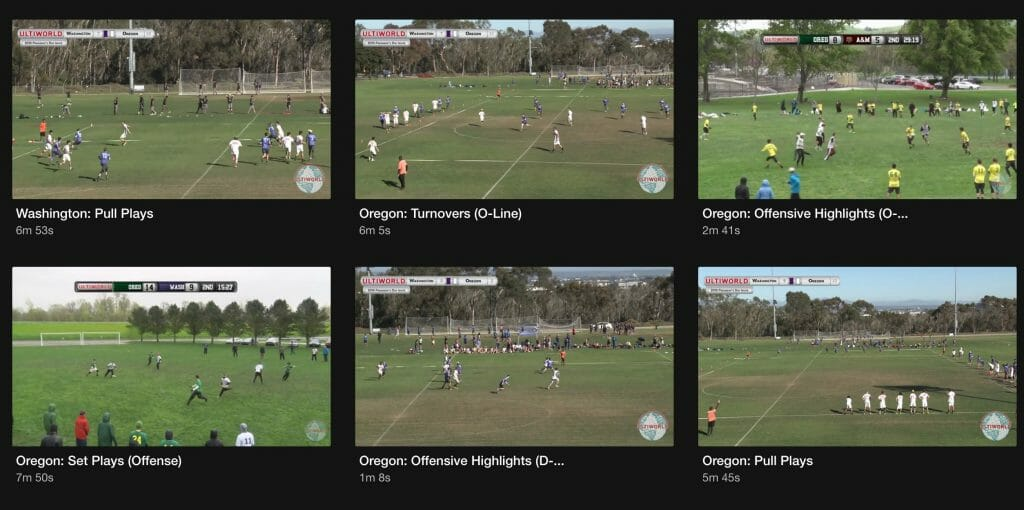 Video Scouting Reports