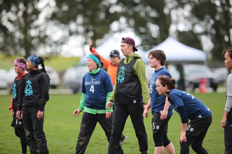 The Whitman Sweets at Northwest Challenge 2016. Photo: Brian Chu -- UltiPhotos.com