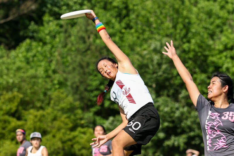 Stanford is the only top seed at the tournament to win their pool. Photo: Paul Rutherford -- UltiPhotos.com