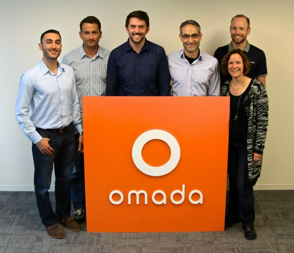 Some of the leadership at Omada Health in San Francisco