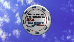 Still from USA Ultimate's 2012 Strategic Plan announcement video.
