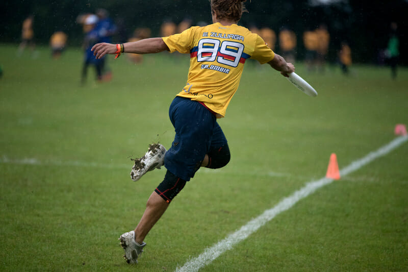 Colombia's Esteban Zuluaga. Photo: Jolie Lang -- UltiPhotos.com