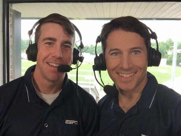Evan Lepler (right) and Ian Toner.