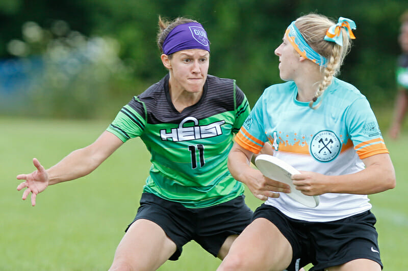 Heist vs Wildfire at the 2016 Elite Select Challenge. Photo: Scott Grau -- UltiPhotos.com