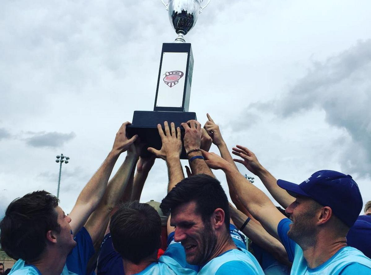 Dallas Roughnecks celebrating their 2016 Championship.
