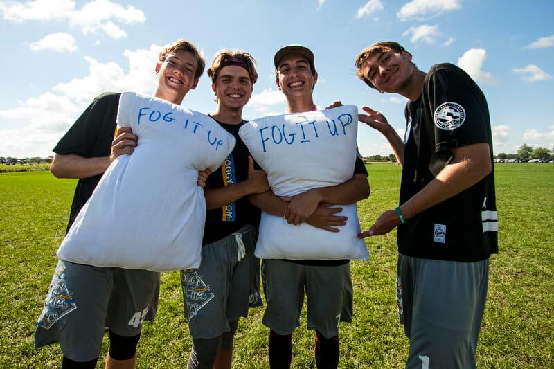 The Foggy Bottom Boys at YCC 2016. Photo: Daniel Thai -- UltiPhotos.com