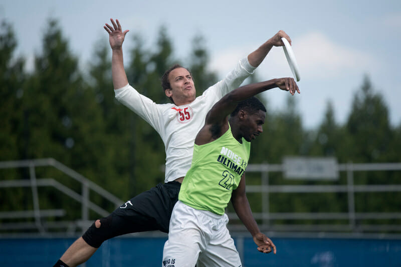 Slow White and NOISE battled at the US Open back in July. Photo: Jolie J Lang -- UltiPhotos.com