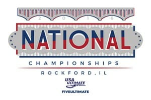 2016 USA Ultimate National Championships Logo