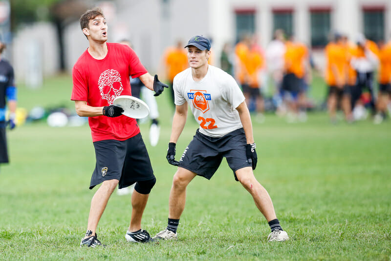 Kurt Gibson and Ironside will square off against Jack Marsh and PoNY in Pool A. Photo: Burt Granofsky  --  UltiPhotos.com