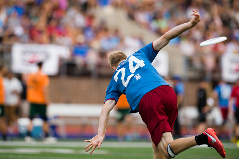The Philadelphia Spinners' Ethan Peck. Photo: Kevin Leclaire -- UltiPhotos.com