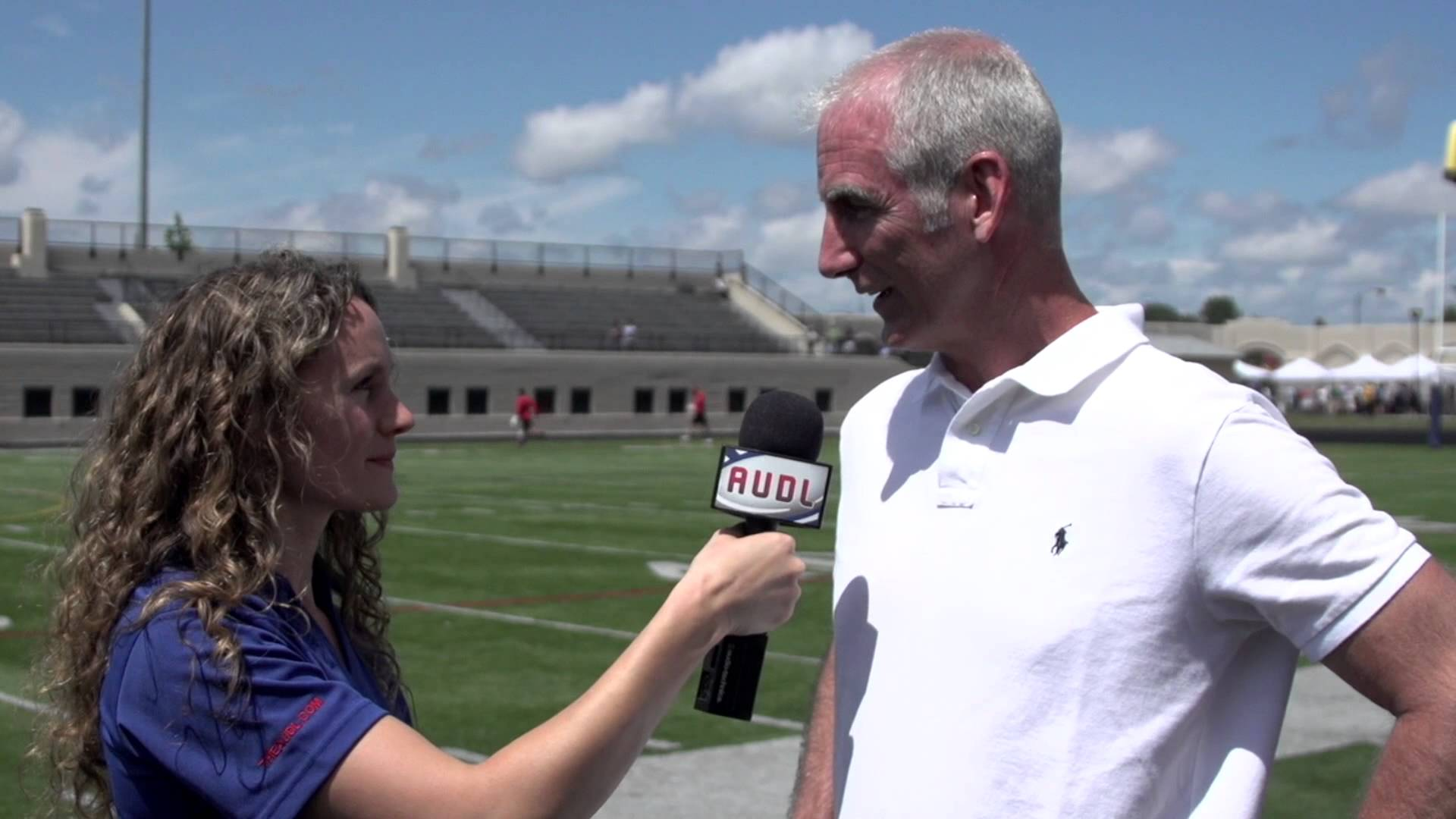 Megan Tormey interviews AUDL Commissioner Steve Gordon.