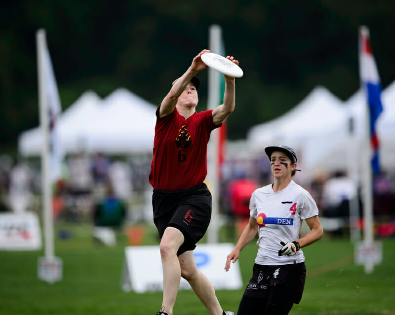"Sarah ""Surge"" Griffith will be making her Fury debut after a gold medal with Riot at WUCC 2018."