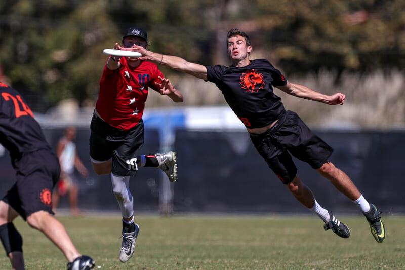 Raleigh Ring of Fire's Jack Williams. Photo: Paul Rutherford -- UltiPhotos.com
