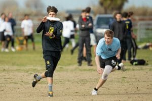 Colorado took down Wisconsin in the Centex final, a rematch of their prequarter at Stanford Invite, pictured here.