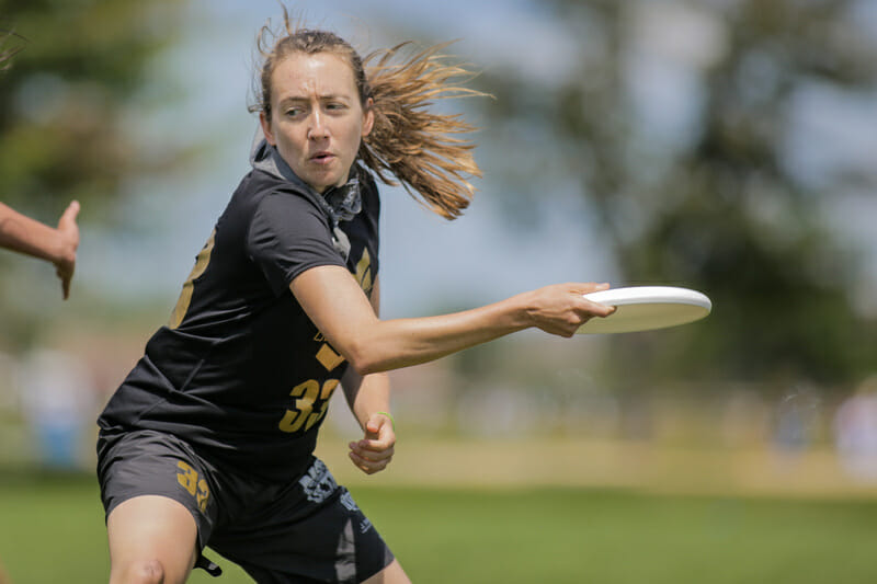 Captain Katy Stanton will be helping lead a new-look NOISE squad in 2019. Photo: Alex Fraser -- UltiPhotos.com