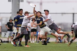 Michigan's Jeff Gao. Photo: Paul Rutherford -- UltiPhotos.com