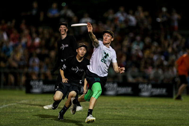 Cal Poly SLO's Sean Liston. Photo: Paul Rutherford -- UltiPhotos.com
