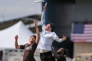 North Carolina's Liam Searles-Bohs. Photo: Paul Rutherford -- UltiPhotos.com
