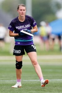 Portland's Kim Dorr. Photo: William 'Brody' Brotman -- UltiPhotos.com