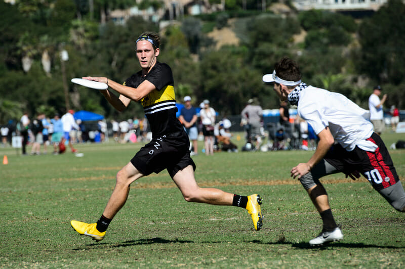 Trevor Smith is one of four captains who will be leading Portland Rhin Slam in 2019. Photo: Kevin Leclaire -- UltiPhotos.com