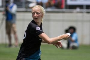 North Carolina's Rebecca Fagan. Photo: Daniel Thai -- UltiPhotos.com