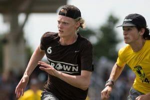 Brown's Dylan Villenueve. Photo: Daniel Thai -- UltiPhotos.com