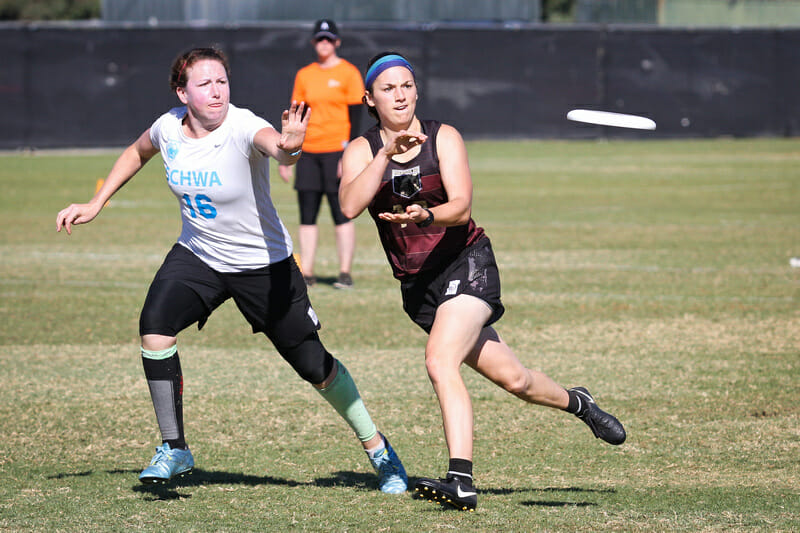 Rachel Enyeart will step up as a captain for Heist in 2019. Photo: Kristina Geddert -- UltiPhotos.com