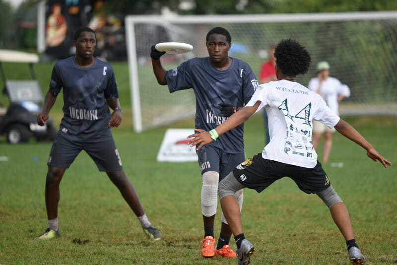 Brothers Darren (left) and Devonte (right) of Indianapolis INcognito were some of the stars of the 2019 Youth Club Championships. Photo: Jolie J Lang -- UltiPhotos.com