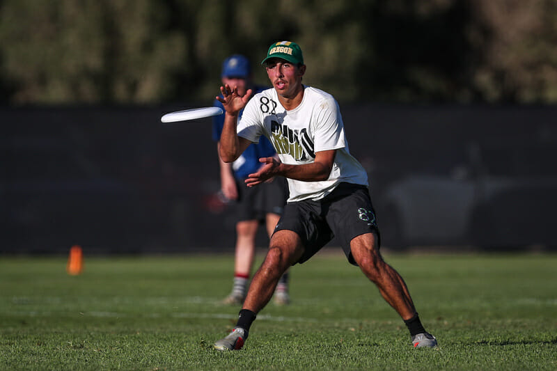 Portland Rhino Slam!'s Leandro Marx at the 2019 Club Championships. Photo: Paul Rutherford -- UltiPhotos.com