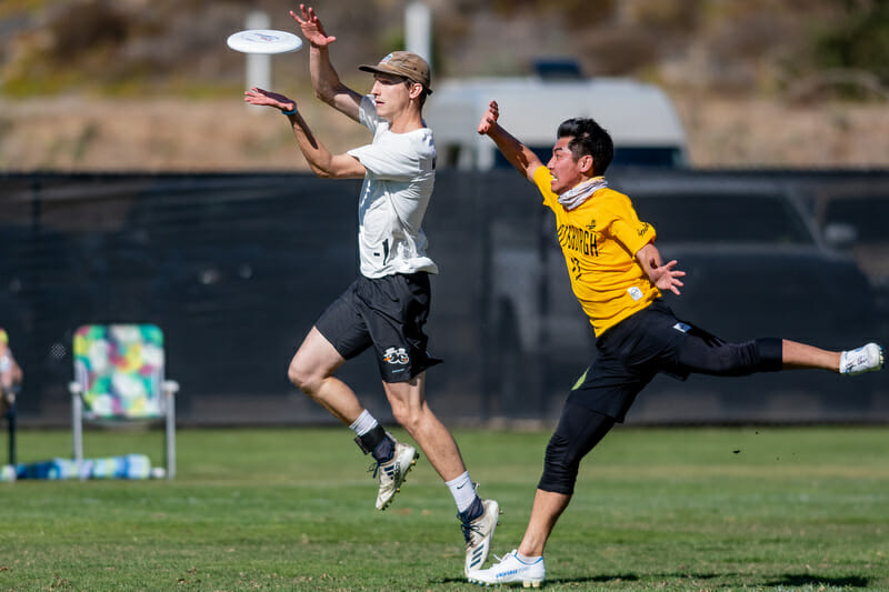 Minneapolis Sub Zero's Ryan Osgar at the 2019 Club Championships. Photo: Sam Hotaling -- UltiPhotos.com