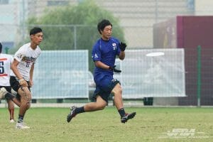 Japan's Masatsune Miyazaki. Photo: Japanese Flying Disc Association