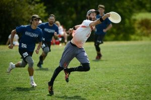Ring of Fire's Eric Taylor at the 2019 Pro Championships. Photo: Sean Carpenter -- UltiPhotos.com
