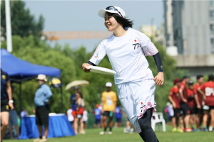 Japan's Risa Shimada. Photo: Japanese Flying Disc Association