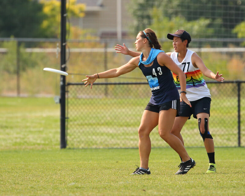 Salt Lake City's Kendra Miller. Photo: Cullen Clark -- UltiPhotos.com