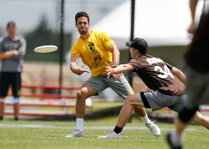 Colorado's Quinn Finer. Photo: William 'Brody' Brotman -- UltiPhotos.com