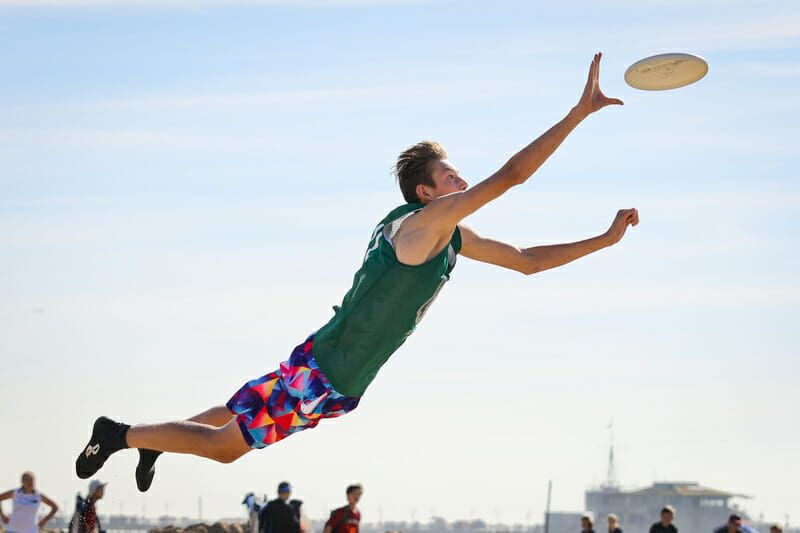U20 pool play at the Beach of Dreams event in Los Angeles. Photo: Kristina Geddert -- UltiPhotos.com