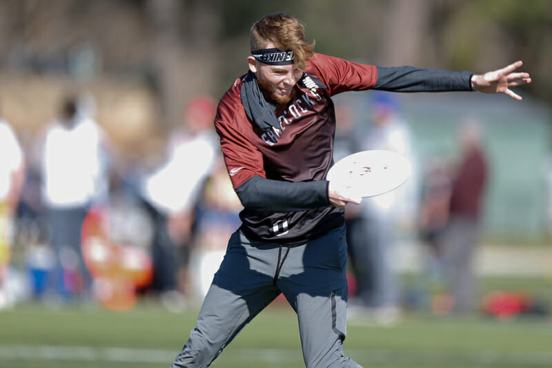 South Carolina pulls at Carolina Kickoff. Photo: Williams 'Brody' Brotman -- UltiPhotos.com