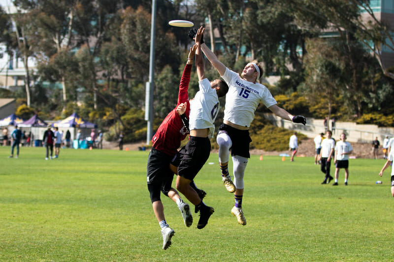 After winning Santa Barbara Invite and President's Day (pictured), Washington will look to continue their dominant spring at Stanford Invite. Photo: Greg Pettus -- UltiPhotos.com